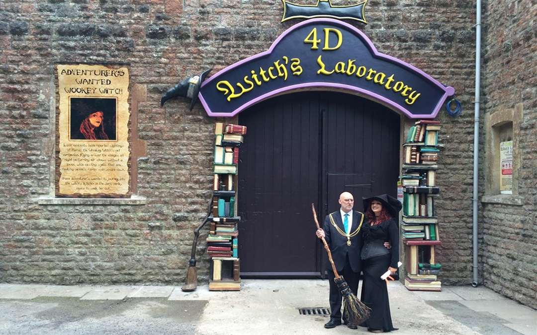 New 4D Cinema Opens at Wookey Hole